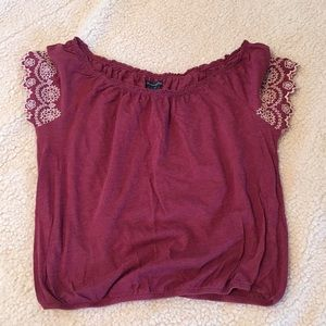 American Eagle Outfitters Tops - American eagle sinch bottom top